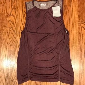 Athleta Crush Metallic Tank Medium NEW